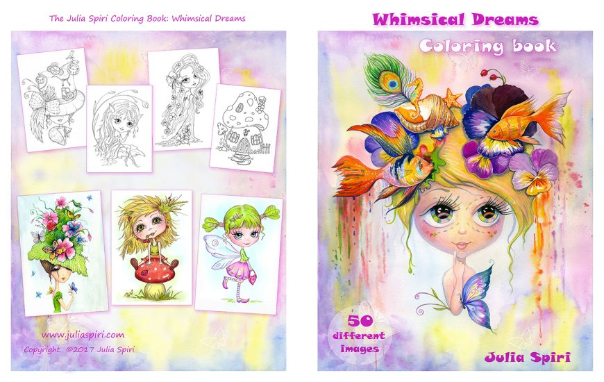Coloring Book Whimsical Dreams
